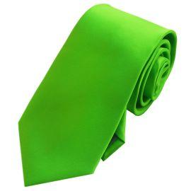 Mens Apple Kelly Green Tie