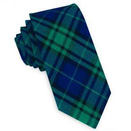Black Watch Tartan Skinny Tie