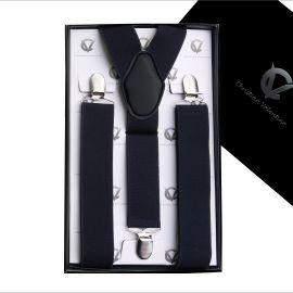 Men's Black Large Braces Y3.5cm