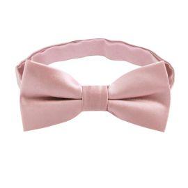 Blush Dusky Pink Boys Bow Tie