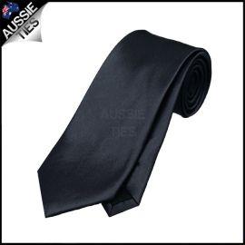 Boys Dark Silver Grey Necktie