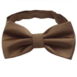Chocolate Coffee Brown Bow Tie