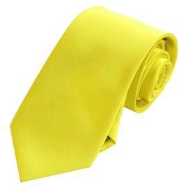 Yellow Men's Tie