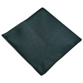 Green Textured Pocket Square