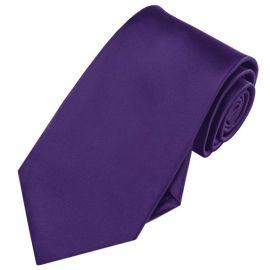 Dark Purple Men's Tie