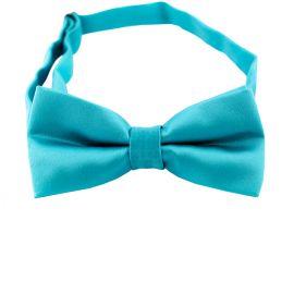 Dark Turquoise Boys Bow Tie