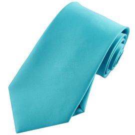 Mens Dark Turquoise Aqua Tie