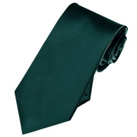 dark green slim tie