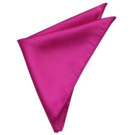 Mens Fuschia Magenta Pink Pocket Square