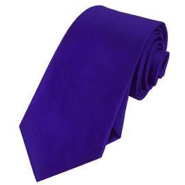 Mens Electric Blue Indigo Tie