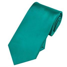 jade green slim tie