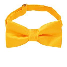 marigold yellow boy's bow tie