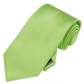 Mens Lime Green Tie