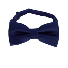 Midnight Dark Blue Boys Bow Tie