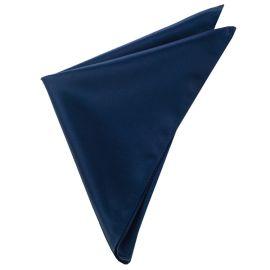 Mens Dark Midnight Blue Pocket Square