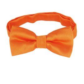 Orange Boys Bow Tie