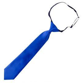 Royal Blue Junior Boys Elasticated Tie