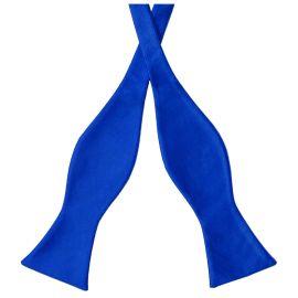 Royal Blue Self Tie Bow Tie