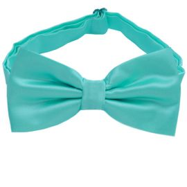 Sea Mist Turquoise Bow Tie