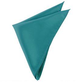 Mens Teal Green Pocket Square