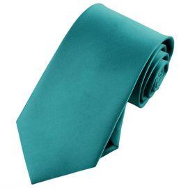 Mens Teal Green Tie