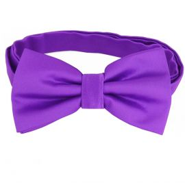Violet Purple Bow Tie