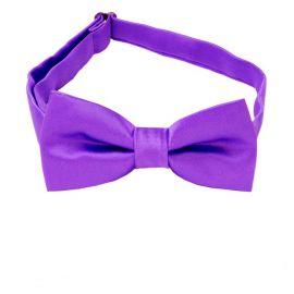Violet Purple Boys Bow Tie
