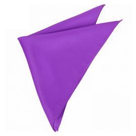 Mens Violet Purple Pocket Square