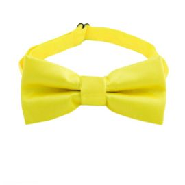 Yellow Boys Bow Tie