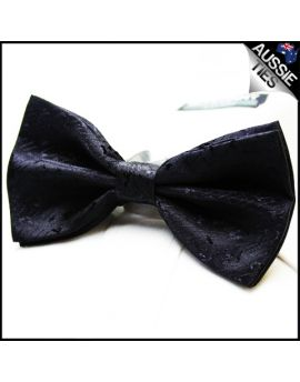 Charcoal Textured Bow Tie