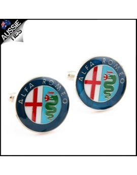 Mens Alfa Romeo Cufflinks