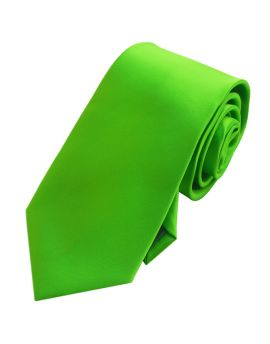 Mens Apple Kelly Green Tie