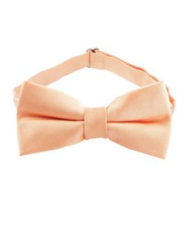 Peach Apricot Boys Bow Tie