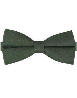 Army Green Cotton Men's Bow Tie