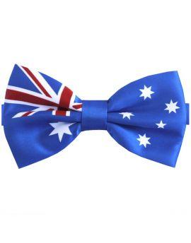 Australian Aussie Flag Bow Tie