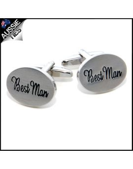 Mens Best Man Cufflinks