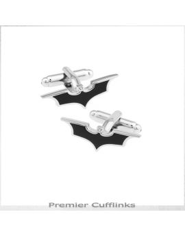Black & Silver Batman Cufflinks