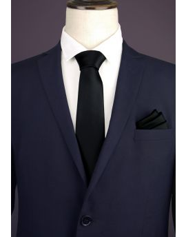 Black Men's Tie