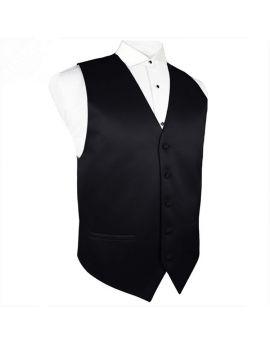 Black Waistcoat Vest