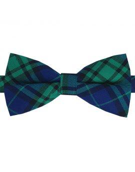 Black Watch tartan bow tie