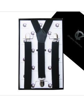 Men's Black Large Braces Y2.5cm
