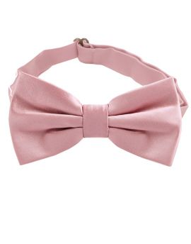 dusky pink bow tie