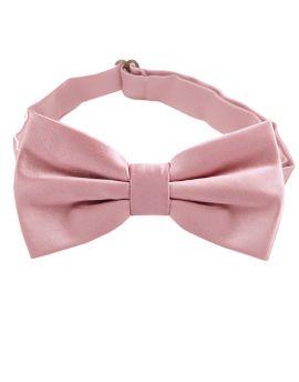 dusky pink bow tie