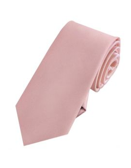 Mens Dusky Pink Blush 7cm Slim Tie