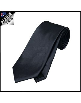 Boys Dark Silver Grey Necktie