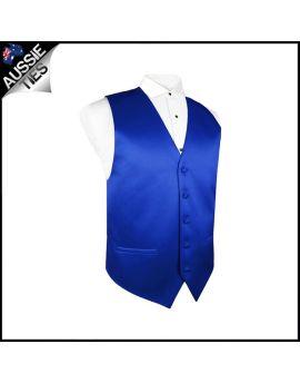 Boys Royal Blue Waistcoat Vest