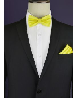 Daffodil Bright Yellow Bow Tie