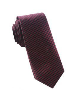 burgundy and black thin stripes