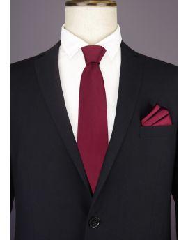 Burgundy Red Men's Tie