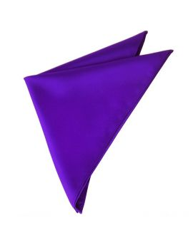 Mens Cadburys Amethyst Purple Pocket Square